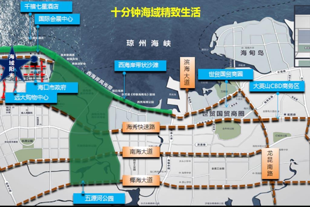 小区位置及周边配套交通图