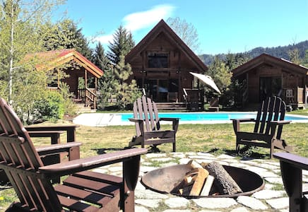Icicle Camp, Spa, Pool, Views - Leavenworth - Cabin