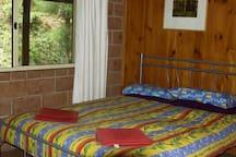 Carisbrook Lodge Bedroom 1 - one queen bed