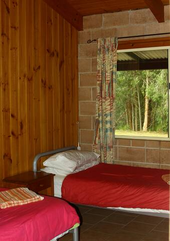 Carisbrook Lodge Bedroom 2 - two single beds
