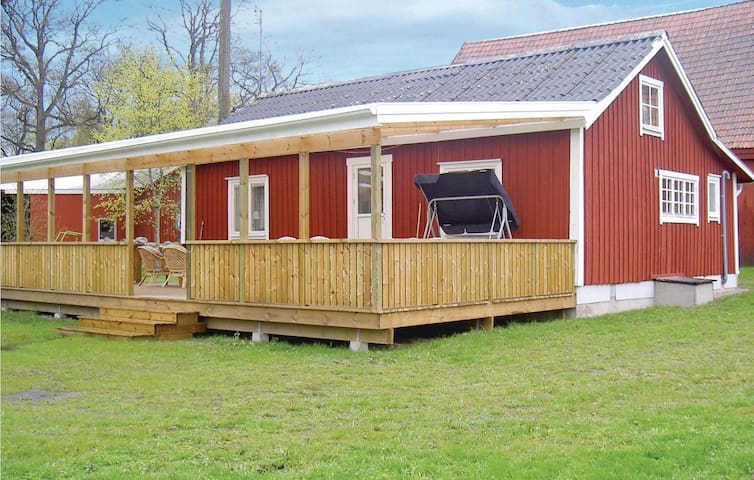 Holiday cottage with 2 bedrooms on 75m² in Ljungby