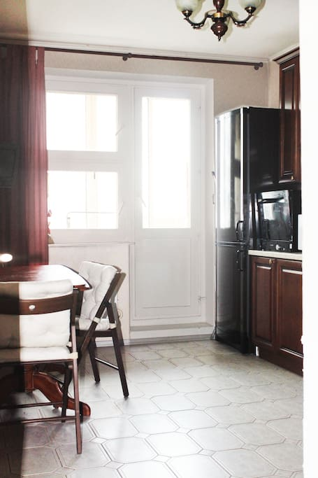 the kitchen is 12 sq. meters