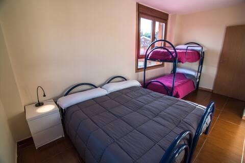 Habitación cuádruple en Hostel de Prioro