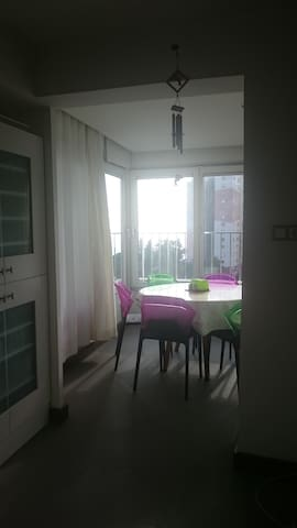 Beautiful apartment with mediterranean view - Huoneisto