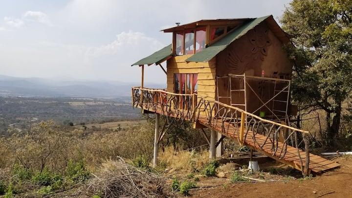 Ecoaldea Monte Mitla (Nido naranja Swadistahana)
