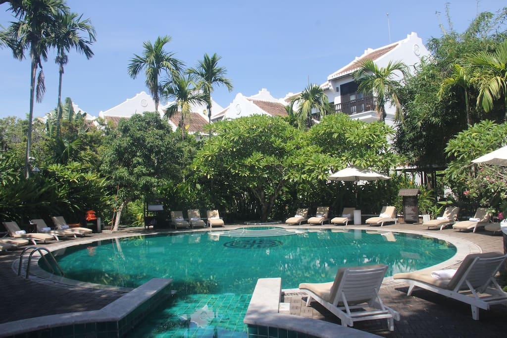 Hoi An Ancient House Resort And Spa - pool