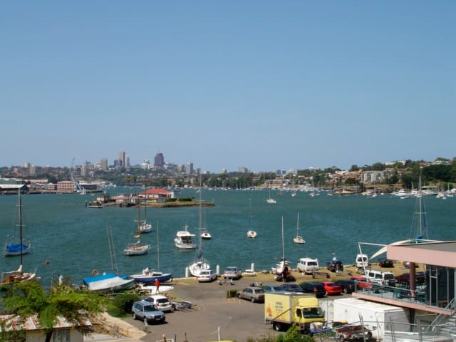 Sydney City Views- HARBOURSIDE GARDEN APT! - Drummoyne - Appartement