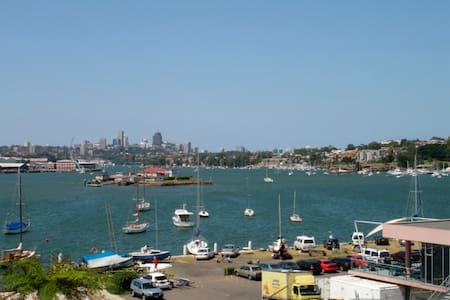 Sydney City Views- HARBOURSIDE GARDEN APT! - Drummoyne