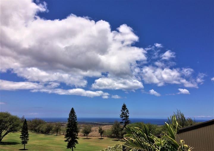 Top-Floor Condo on Golf Course with Ocean View