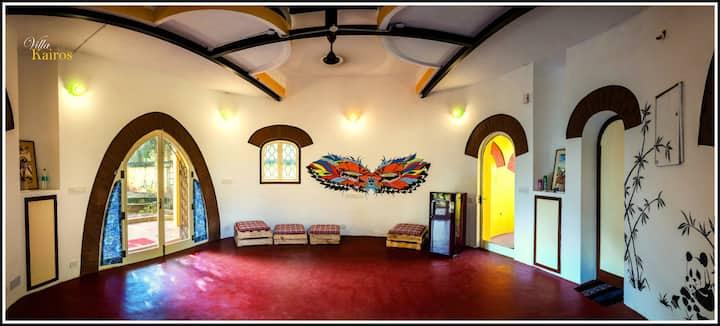 Villa Kairos Individual Villa at Pondicherry
