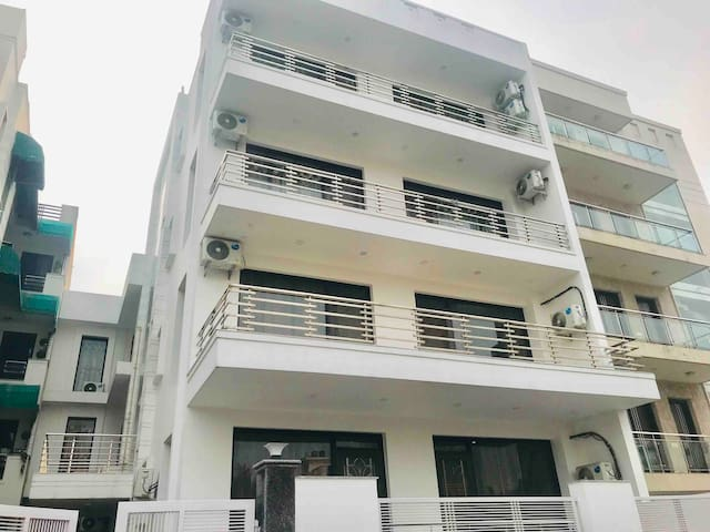 Front view of our Serviced Apartments building