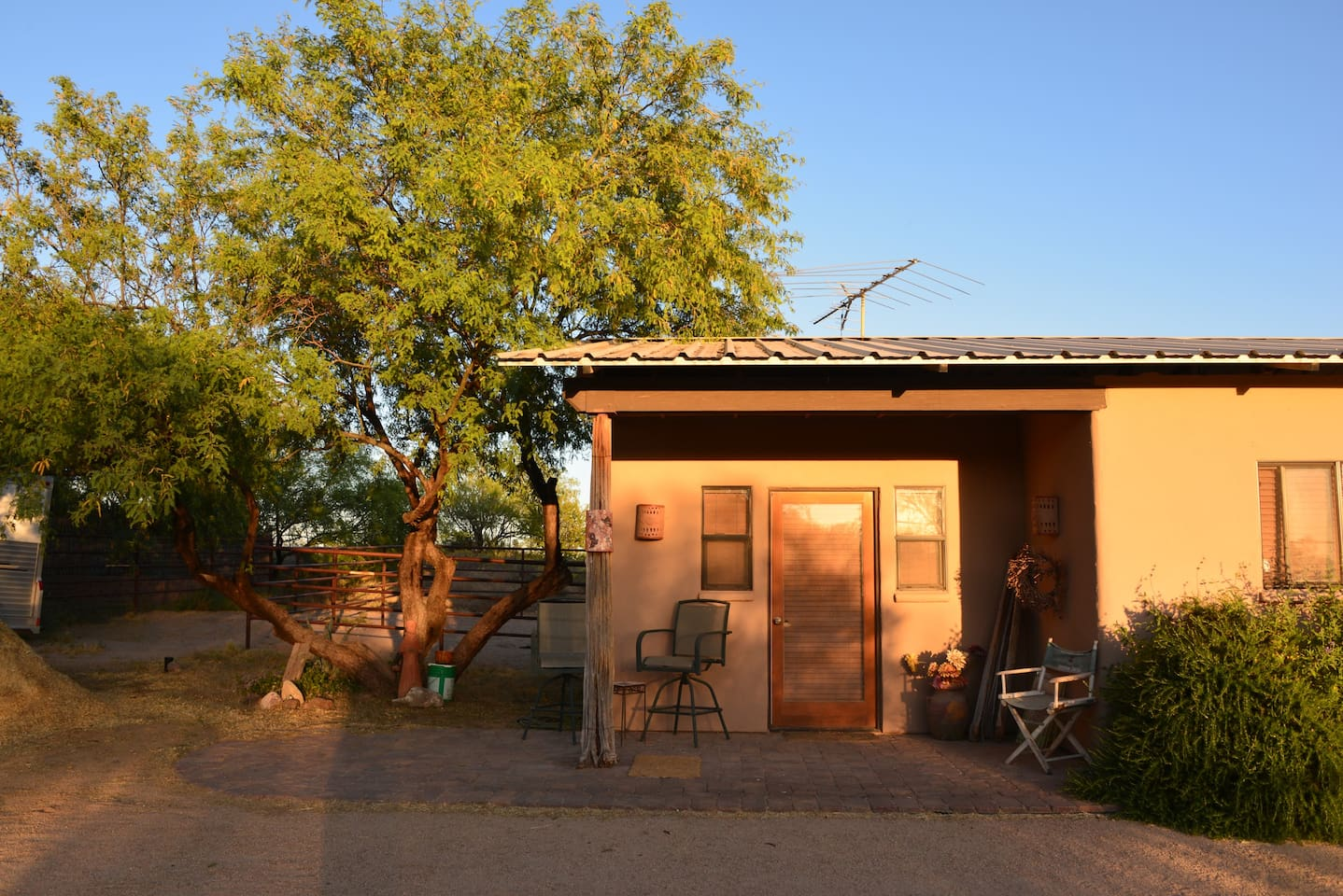 Your private casita for your time here!