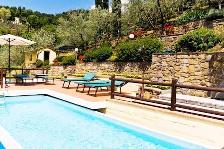 Villa in de heuvels van de Chianti - Loro Ciuffenna