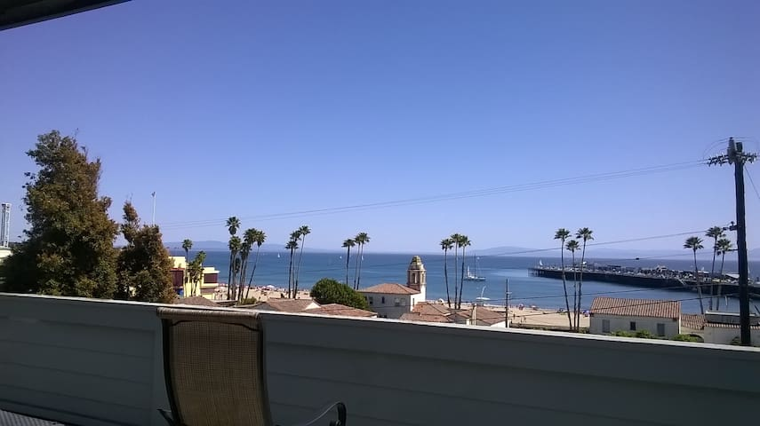 Ocean View on Beach Hill - Santa Cruz - Apartment