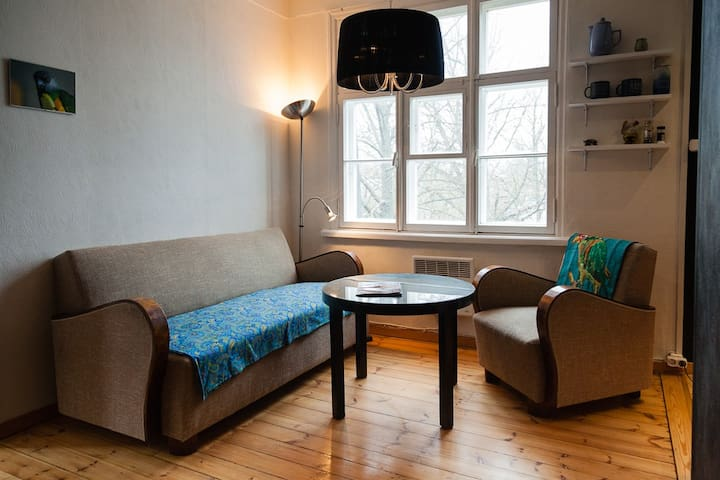 A cosy stay in bohemian central - Tallinn - Lägenhet