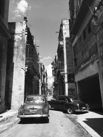 In the heart of old Havana.
