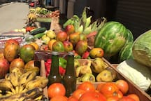 Buy from local markets and enjoy fresh, organic fruits and vegetables.