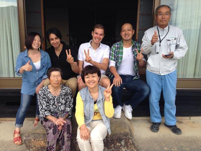 Japanese heart-warming hospitality