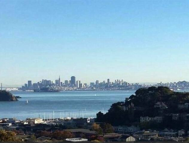 Stunning SF Views-1 BR Pied a Terre - Belvedere Tiburon