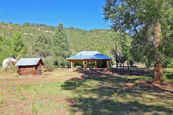 Private river front retreat near Dolores, Colorado