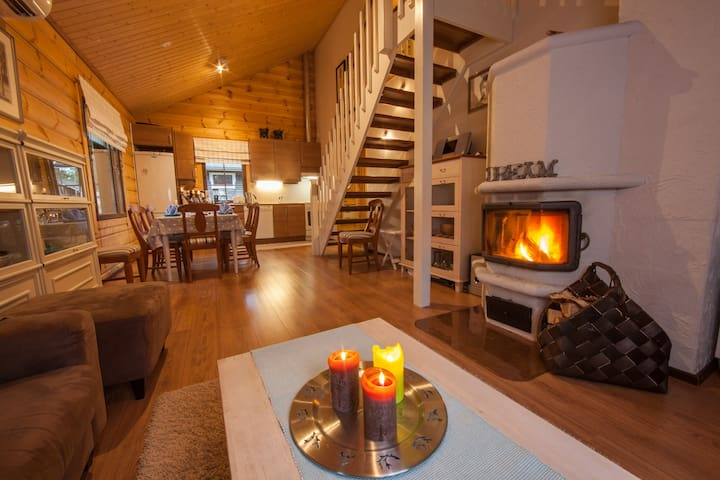 Cottage in Levi: Cozy and Spacious - Kittilä - Kabin