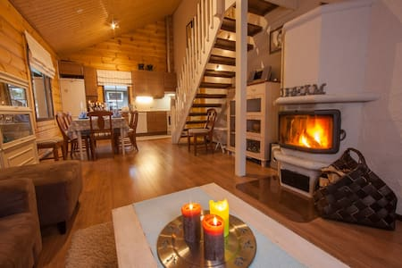 Cottage in Levi: Cozy and Spacious - Kittilä - Hytte