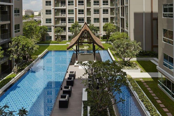 Nice & Quiet 1BR near historic area - Bangkok - Apartment