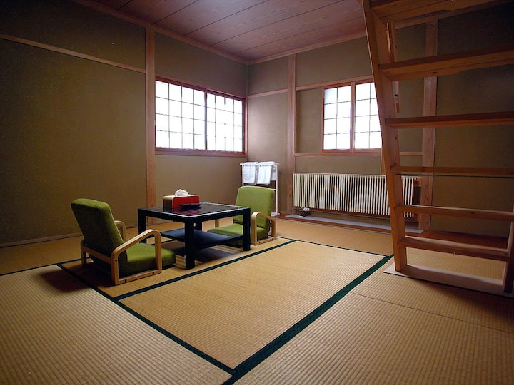 Japanese Room w/Attic Bedroom - B&B Koyuki