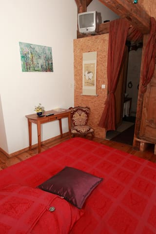 "Chambre  ""Les Oiseaux"" - Courcelles-Chaussy - Bed & Breakfast"