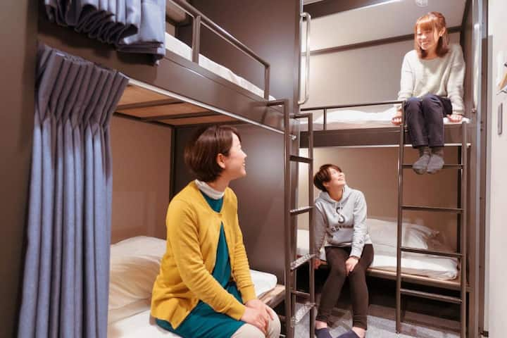 A cozy space! Female Only Dormitory