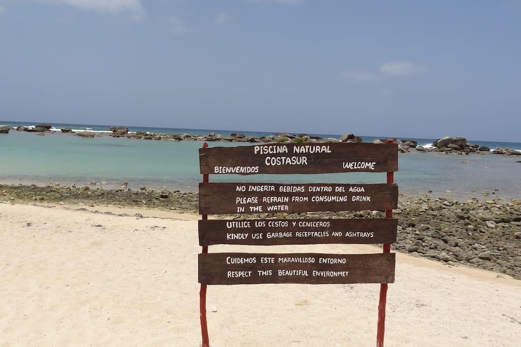 Playa Maria Aguilar, Península Ancón, Trinidad