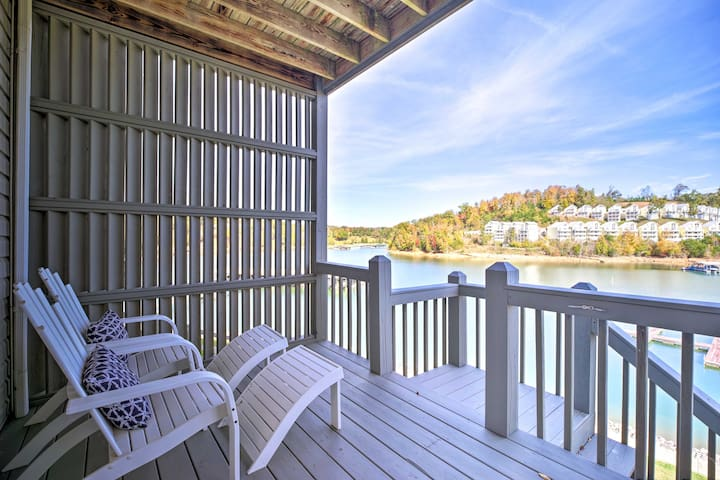 Waterfront Condo on Norris Lake w/Boat Slip!