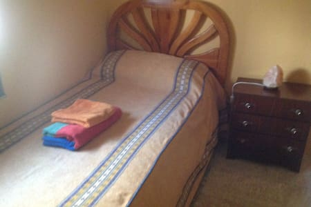 Room type: Private room Bed type: Real Bed Property type: House Accommodates: 1 Bedrooms: 1 Bathrooms: 0.5