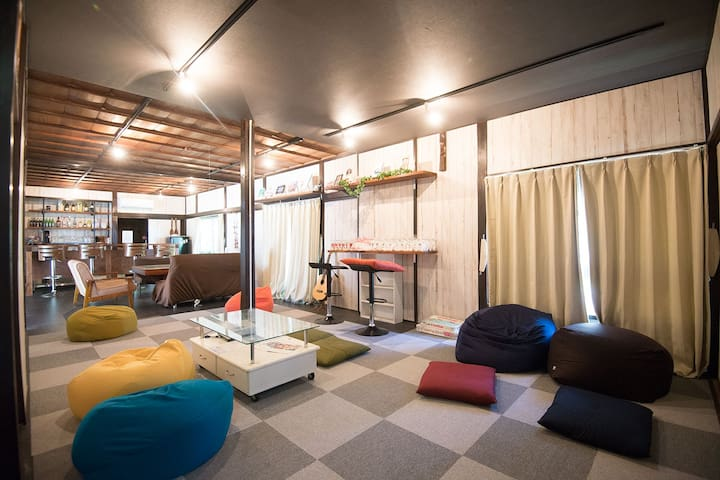 Group Stay Plan! Japanese style room in IzuOshima