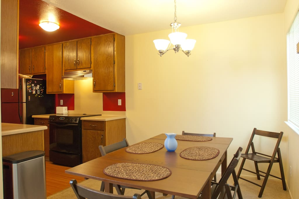 Dinning area and Kitchen