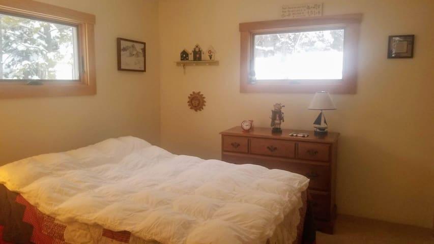 1st floor Full bedroom next to 3/4 bath & Kitchen
