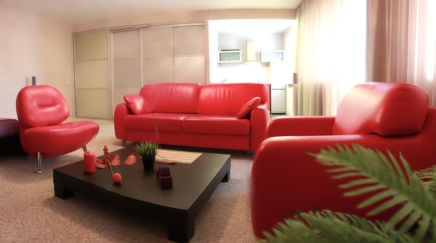 Альфа Апартамены: Студия у набережной - Omsk - Apartment