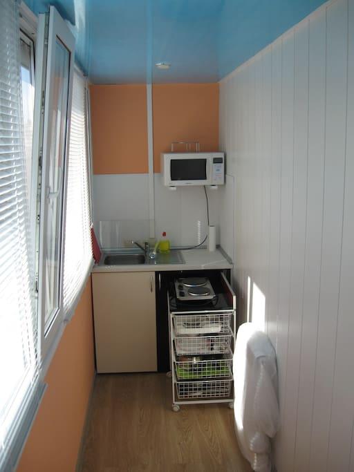 кухня - зона приготовления пищи