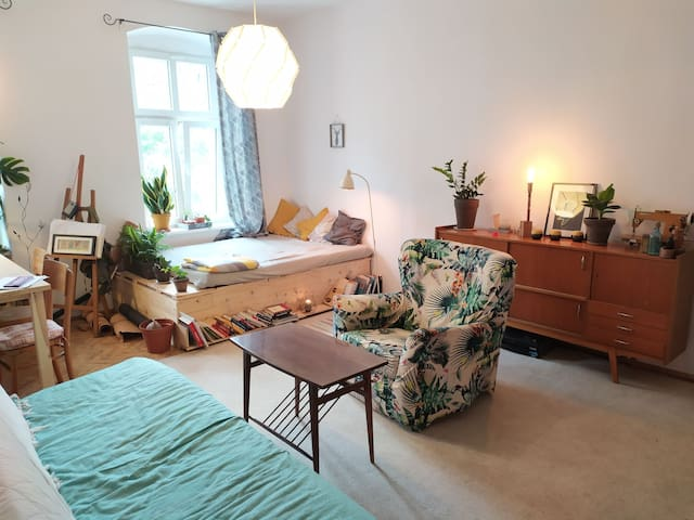 Cosy room in central Wrocław