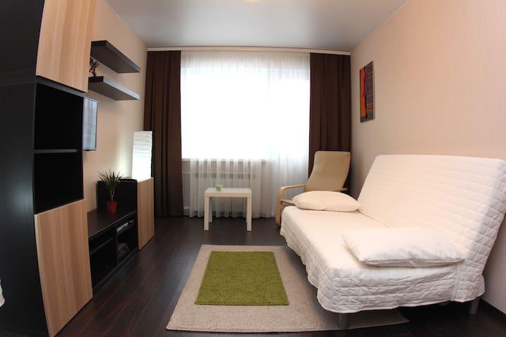 Альфа Апартаменты: Шведский стиль и спальный район - Omsk - Apartment