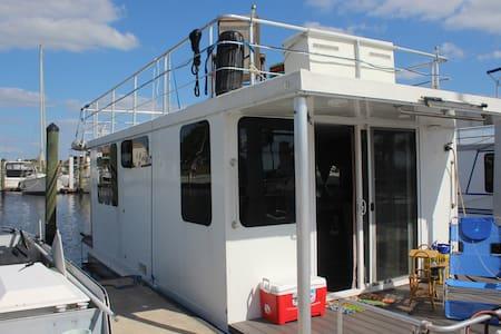 """Captain's Cruiser"" HOUSEBOAT Unique Experience - Neapol - Loď"