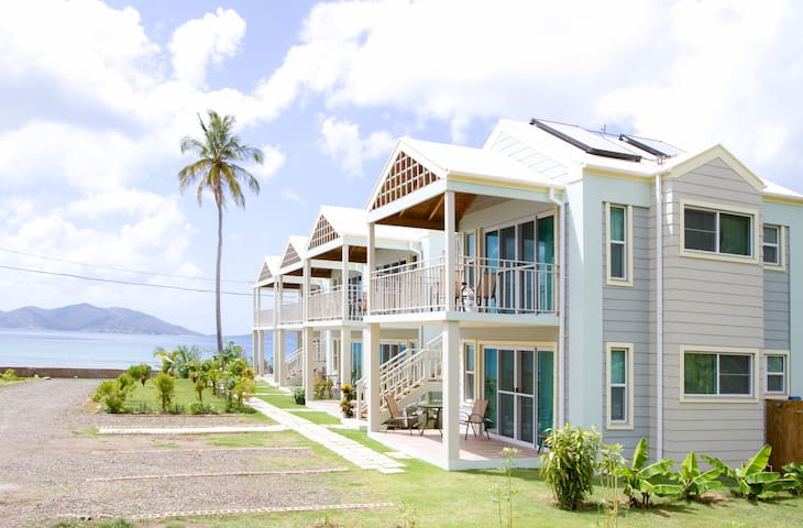 Stunning Oceanfront Flat in a Superb Location: V3 - Tortola