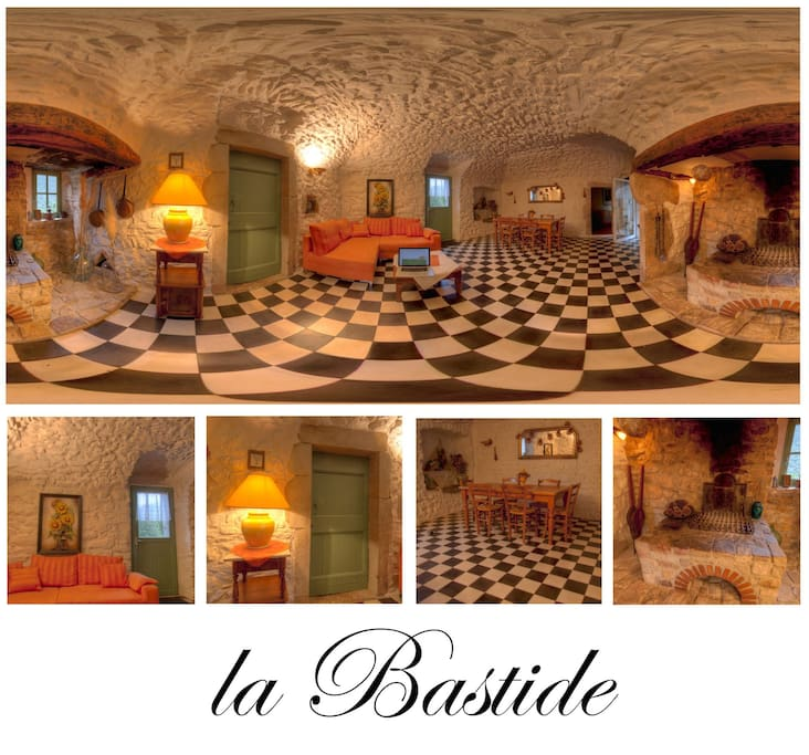 La BASTIDE Collage