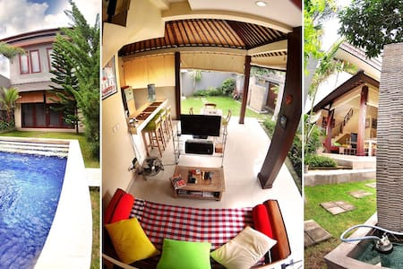 Cozy & spacious pool-side bedroom