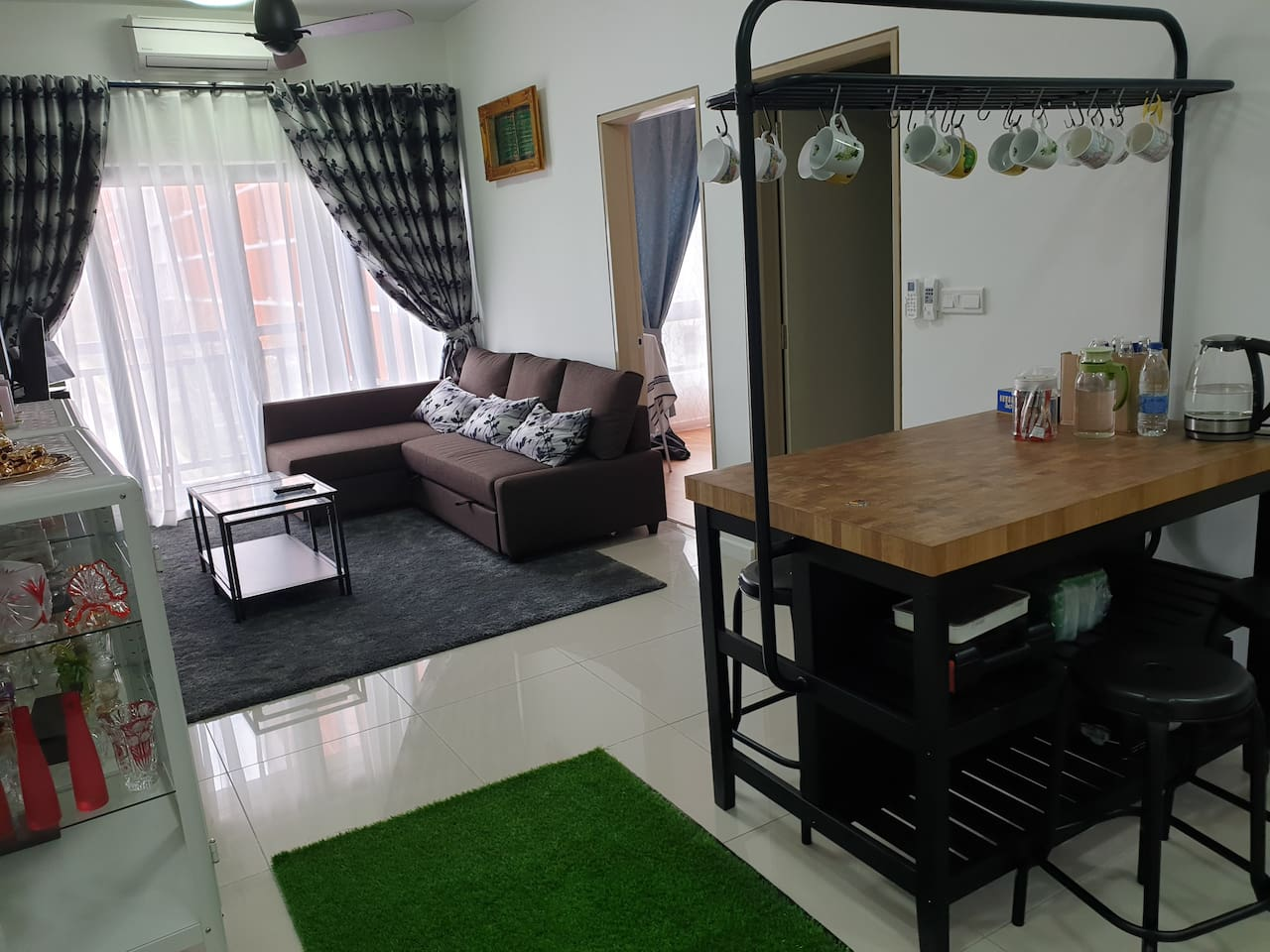 Living room and Island table