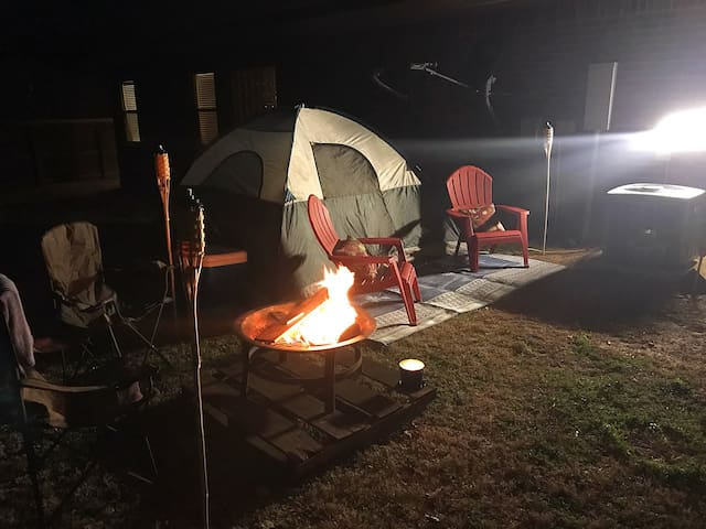 Experience Arkansas outdoors with modern camping