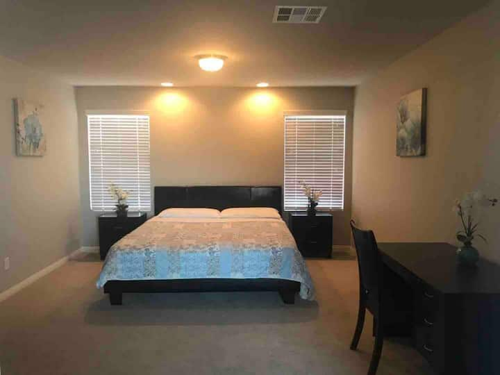 Master Bedroom w/ Private Bath and entire floor