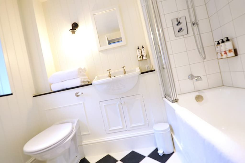 Typical Bathroom, actual room may differ slightly