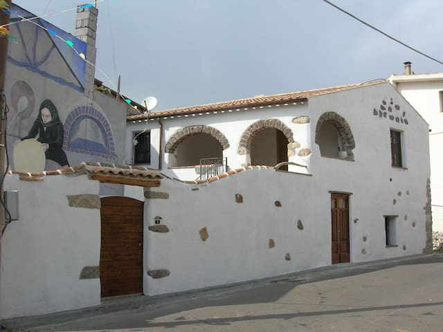 Typical home at 7 km from the Gulf of Orosei