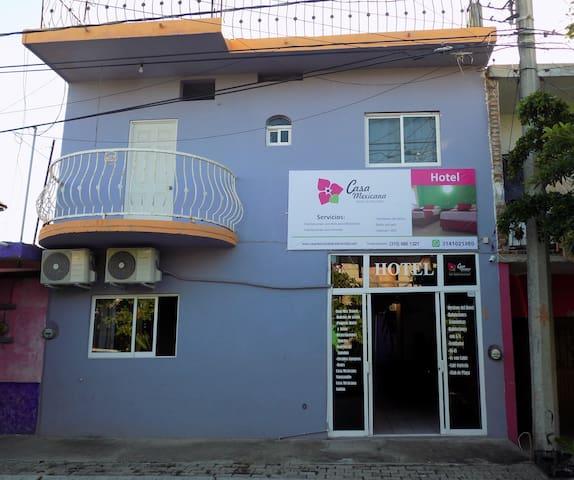 Casa Mexicana Barra Hab.  SUPERIOR con Aire Acond